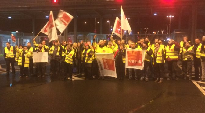 FraSec zahlt Lohn am Flughafen Köln/Bonn nicht pünktlich